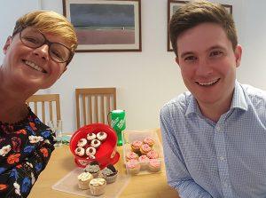 Miller Evans & Co solicitors E14 cupcake challenge
