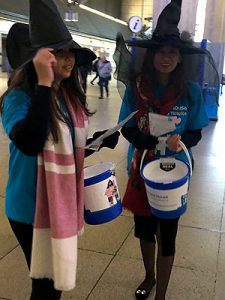 E14 solicitors Miller Evans & Co collecting at Canary Wharf